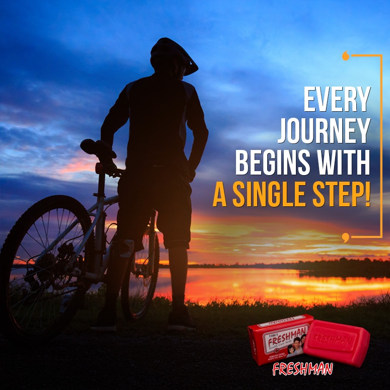Every Journey Starts with a Single Step