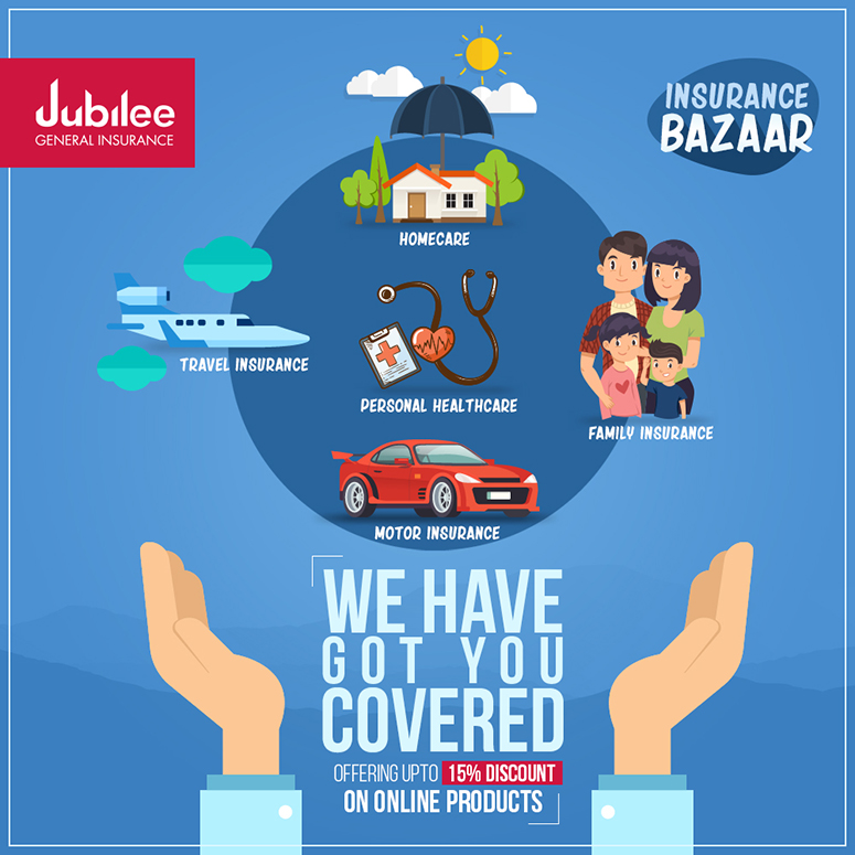 Jubilee General Insurance - Main Key Visual