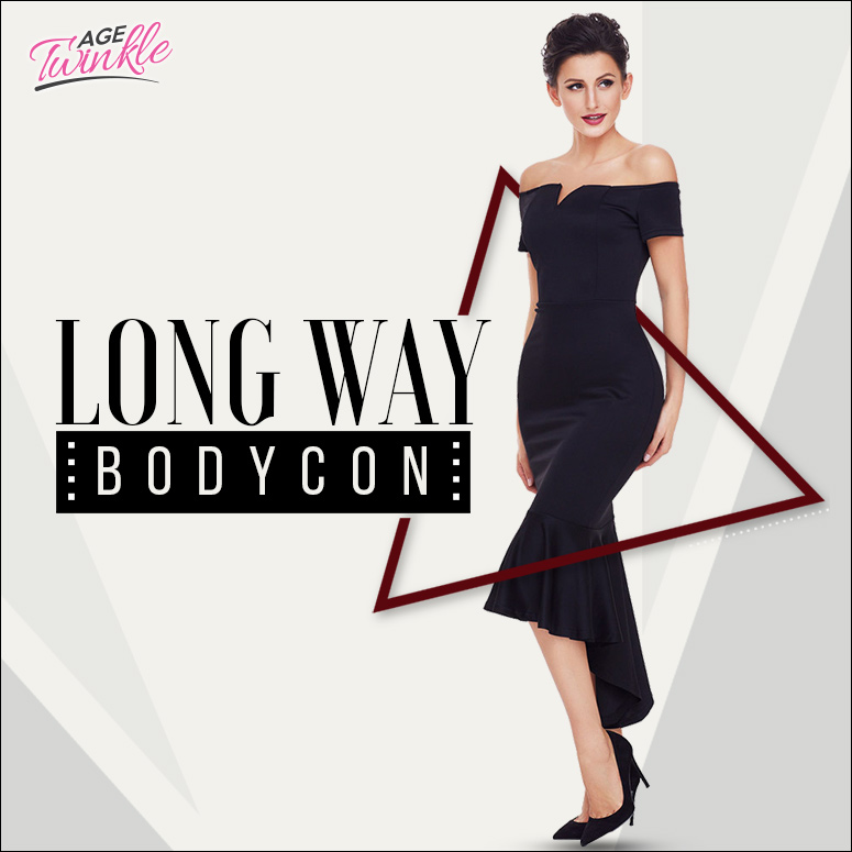 Long Way Bodycon - Twinkleage