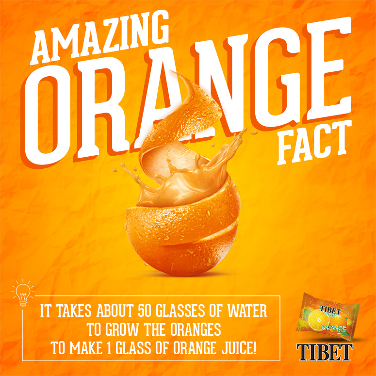 Amazing Orange Fact