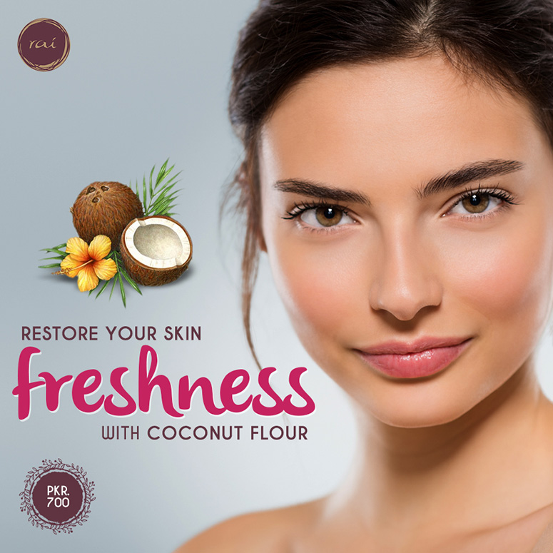 Restore Your Skin Freshness with Coconut Flour