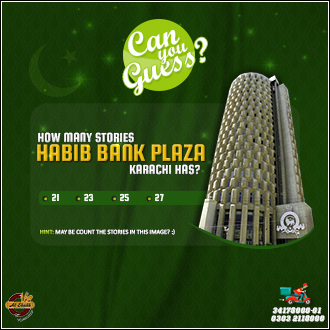 Total Stories of Habib Bank Plaza