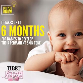 Babies Permanent Skin Tone