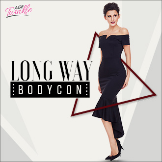 Long Way Bodycon