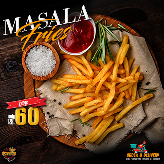 Masala Fries