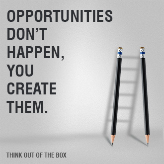 Opportunities Don't Happen