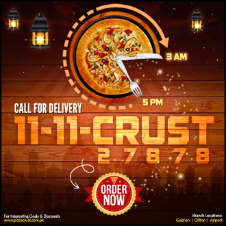Pizza Crust Delivery