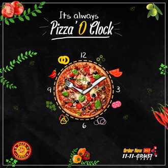 Its Always Pizza-O-Clock