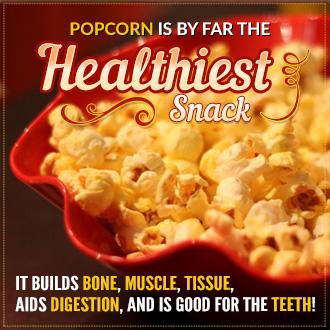 Popcorn – Healthiest Snack