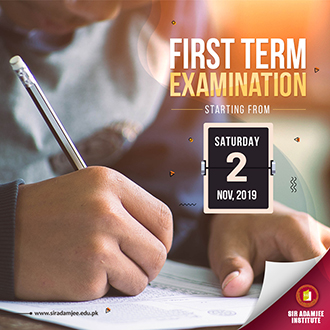 First Term Exams