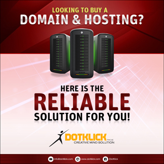 Reliable Hosting By DotKlick