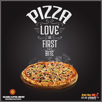Pizza Love at First Bite