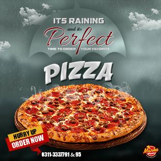 Rainy Day with Marko Pizza