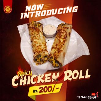 Spicy Chicken Roll