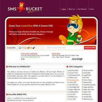 SMS Bucket